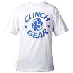 Футболка Clinch Gear Icon Tee- White/ Blue - фото 8318