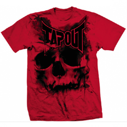 Футболка Tapout Skull Drip Men's T-Shirt Red - фото 8430