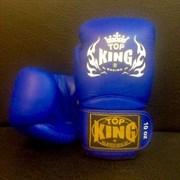 Перчатки боксерские Top King Super Blue