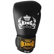 Перчатки боксерские Top King Ultimate Black