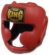 Шлем боксерский Top King Red