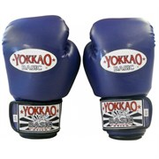 Перчатки боксерские Yokkao Basic Gloves Velcro Blue (BYGS-1 Blue)
