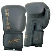 Перчатки боксерские Excalibur Model 572 Black Воловья кожа