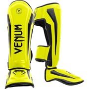 Щитки Venum Elite Neo Yellow