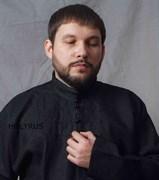 Рубаха Holyrus Иван Грозный черная