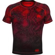 Компрессионная футболка Venum Fusion Black/Red S/S