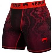 Компрессионные шорты Venum Fusion Compression Shorts - Black Red