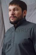 Рубаха Holyrus с манжетами темно-серая