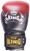 Перчатки боксерские Top King Super Star красные