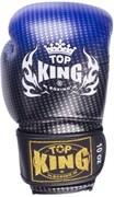 Перчатки боксерские Top King синие