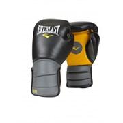 Лапы-перчатки Everlast Catch & Release Черно-Серо-Желтые