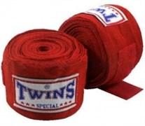 Бинты боксерские Twins красные