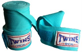 Бинты боксерские Twins голубые 5м