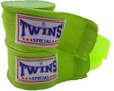 Бинты боксерские Twins салатовые 5м
