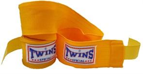 Бинты боксерские Twins желтые 5м