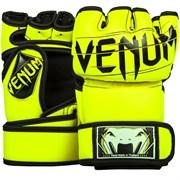 Перчатки ММА Venum Undisputed 2.0 Neo Yellow