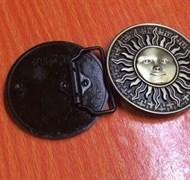 Кожаный ремень Holyrus Солнце