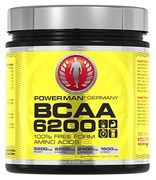 Аминокислоты PowerMan®  BCAA 6200