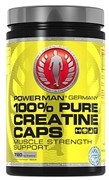 Креатин PowerMan® 100% Pure Creatine Caps