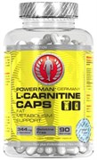 L-карнитин PowerMan® L-Carnitine Caps