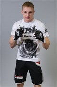 Футболка М-1 Медведь MMA белая - в стойке