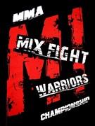 Футболка M-1 MixFight черная - рисунок на груди крупно