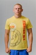 Футболка Fighter M-1 лого желтая