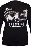 Футболка с длинным рукавом M-1 MMA Russia - крупно