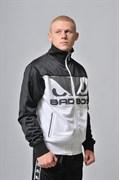 Олимпийка Bad Boy Nemesis Top черно-белая - боком