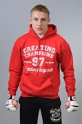 Толстовка Creating Champions 97 красная