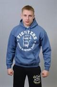 Толстовка MMA Fighters ярко-синяя