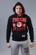 Толстовка M-1 Fighting League черно-красная - в капюшоне