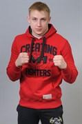 Толстовка M-1 Creating Fighters красно-черная - в стойке