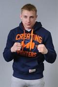 Толстовка M-1 Creating Fighters сине-оранжевая - в стойке