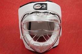 Шлем кожаный для тренировок с защитой