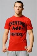 Футболка Creating Fighters M-1 красная
