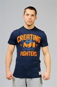 Футболка Creating Fighters M-1 темно-синяя