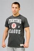 Футболка Fighting League 1997 темно-серая