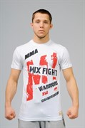 Футболка M-1 Warriors Mixfight белая