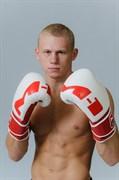 Перчатки M-1 боксерские белые - боец
