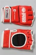 Перчатки для ММА Imperia Pro без защиты пальца кожаные