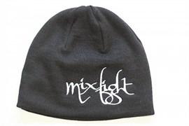 Шапка М-1 MixFight H6 черная - надпись MixFight(миксфайт)