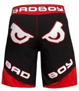 Шорты Bad Boy Legacy 2 черно-красные - вид сзади