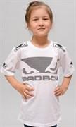 Детская футболка Bad Boy Kids Walk In White