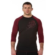 Рашгард Clinch Gear Impulse Compression TOP LS черно-красный