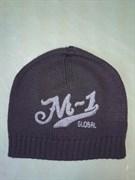Шапка М-1 Global H7 черная - принт