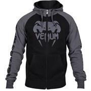 Толстовка Venum Pro team черно-серая