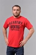 Футболка М-1 Academy Boxing красная