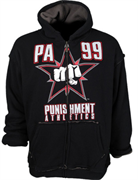 Толстовка Punishment Athletics Tempest Zip - Black