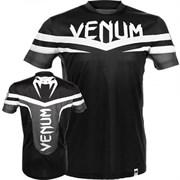 Футболка Venum Sharp Dry Tech T-shirt -Black White